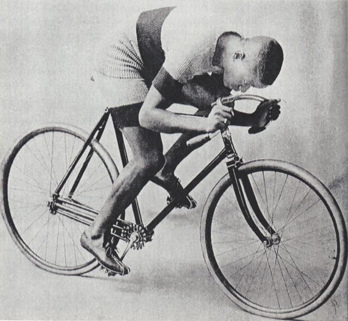 Als racefiets was een fiets met cardanas geen succes